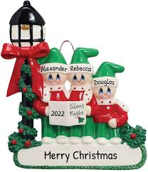 ✓ free for commercial use ✓ high quality images. Amazon Com Personalized Carolers Family Of 3 Christmas Tree Ornament 2020 Christian Parent Child Friend Silent Night Church Light Religious Choir Holy Pray Tradition Gift Year Free Customization Three Home Kitchen