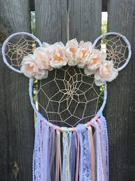 Mickey Mouse Dream Catcher Extraordinary Mickey Mouse Dreamcatcher Large Dreamcatcher Nursery Etsy