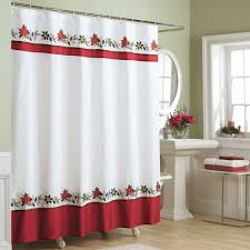 Image of: New Country Christmas Shower Curtains Smart Bathroom Sets Ideas Hot Home Decor