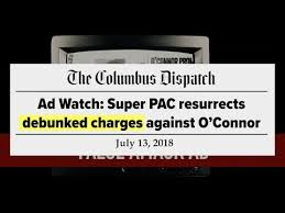 debunked o connor campaign ad released july 13 2018