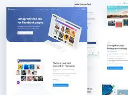 Most Amazing Website Designs Iconosquare Facebook Lander Amazing Website Designs