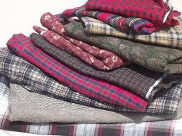 18 lbs cotton flannel fabric scraps, primitive country 'rag' quilt ... & 18 lbs cotton flannel fabric scraps, primitive country 'rag' quilt fabrics  lot Adamdwight.com