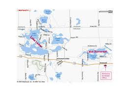 Lake Somerset Michigan And Lake Leann Michigan Information