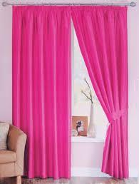 Unbelievable Design Hot Pink Bedroom Curtains Ideas