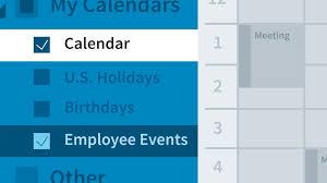 Create A Calendar Group