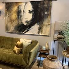 Wandkleed Een Nieuwe En Trendy Wanddecoratie De Huiskamer