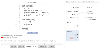 — draw a straight line. Python Reference