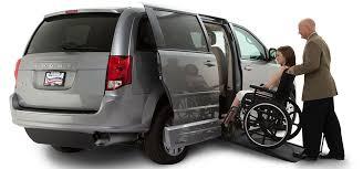handicap ramps for minivans. gray-dodge-grand-caravan-side-entry-wheelchair-van- handicap ramps for minivans