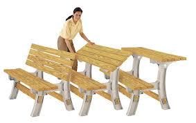 Flip Furniture Amazoncom Hopkins 90110onlmi 2x4basics Flip Top Benchtable