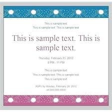 Corporate Invitation Card Format Invitation Card Format For Seminar Templates Free Sample