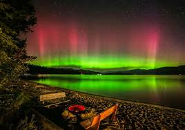 Northern Lights Sandpoint Id Priest Lake Idaho Panhandle National Forests Coeur D