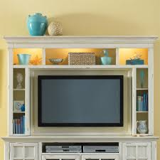 entertainment hutch with interior lighting