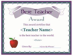 best teacher award template pin by vika rakatia on certificate templates pinterest