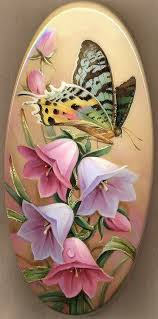 Pin by Jacqueline Pierce on ART | Flower art, Flower painting, Butterfly art