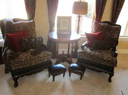 accent chair animal print accent chairs beautiful leopard chair for exotic room taste â