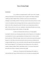leadership essay introduction a leader is one who knows the way  2 pages ways of losing weight