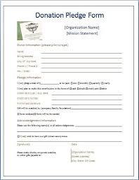 Sample Donation Form Sample Donation Pledge Form Donation Form Donation Letter