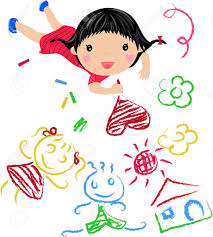 Small Picture Kids Drawing Stock Photos Royalty Free Kids Drawing Images And