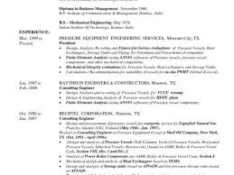 Resume Templates Engineering Delectable Electrical Engineer Resume Templates And Resume In Mechanical