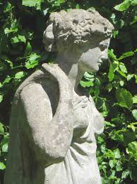 antique classical figure of a maiden