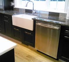 Farmhouse Sink Cabinet Black Granite Farmhouse Kitchen Sink Quicuacom