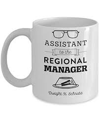 the office coffee mug. assistant to the regional manager by trinkets u0026 novelty office merchandise this 11oz tv show inspired michel scott dwight jim coffee mug is