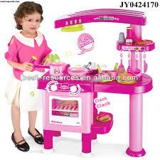 kids pretend play kitchen set cooking food toy green kids plastic kitchen set