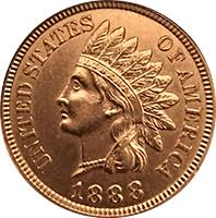 1888 Indian Head Penny Value Cointrackers