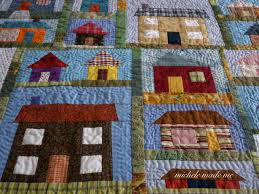 A Little House Quilt - Michele Made Me & This colourful little quilt was made several years ago now. Back in ancient  times. Pre-blog. I re-discovered it the other day whilst attempting to  clean my ... Adamdwight.com