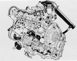 fwd saab 99 power unit the only other layout in use at this time is that the engine mounted inline ahead of the final drive unit and the gearbox behind