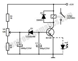 12v time delay relay circuit time delay relay on circuit schematic