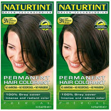 2 Pack Naturtint Hair Dye 5n