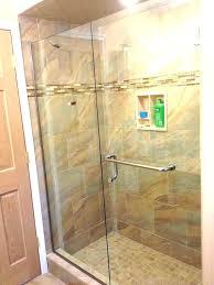 shower door towel bar bracket replacement over