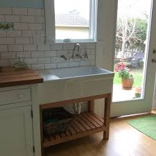 Freestanding Kitchen Freestanding Kitchen Oak Sink Unit Ja Delnakuchyn