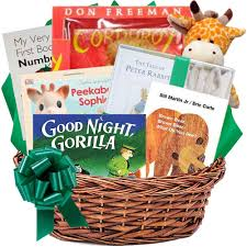 awesome baby book gift basket