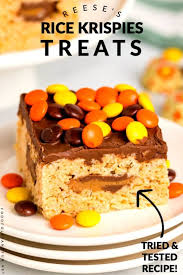 reese s rice krispie treats food