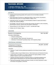 Civil Engineer Resume Format Thrifdecorblog Com