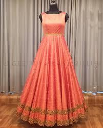 Designer Party Dresses For Less Beautiful Floor Length Designer Anrkali Dress With Sleeve