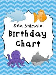 Under The Sea Birthday Chart Birthday Chart Sea Worksheets Teaching Resources Tpt