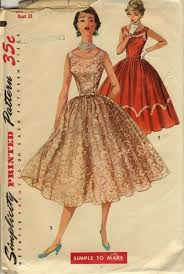 Retro Dress Patterns Classy Vintage 48s Dress Patterns And Instructions