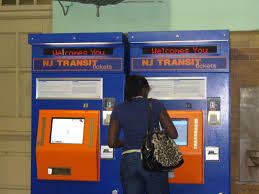 Nj Transit Ticket Vending Machines Best New Ticket Machines Installed At Train Station South Orange NJ Patch