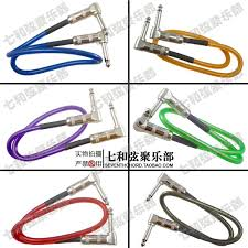 audio cable shielding reviews online shopping audio cable 50cm length two 6 35 plugs no noise effects cable guitar wire noise shielding audio cable