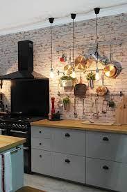 Blog I M Home Honey Brick Wallpaper Kitchen Faux Brick Wallpaper Kitchen Kitchen Wallpaper