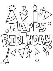 tn rg51 free printable birthday coloring cards cards, create and print on birthday coloring card