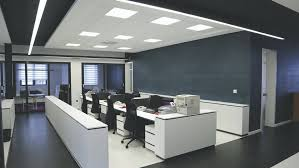 office lightings. Open Concept Office Space Lightings