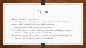 brainstorming and outlining essays warm up take a few notes on 17 notes
