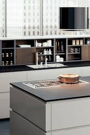 Modular Shelf Contemporary Lacquered Wood For Kitchens