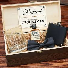 groomsmen gift set wood boxed