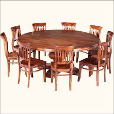 a round dining table adds an instant elegance to any room our sierra nevada rustic solid wood large round dining table for 10 people is han