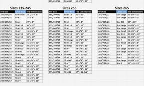Motorcycle Tire Comparison Chart 50 Valid Motorcycle Tire Dimensions
